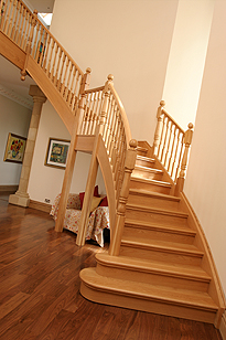 High End domestic stair set